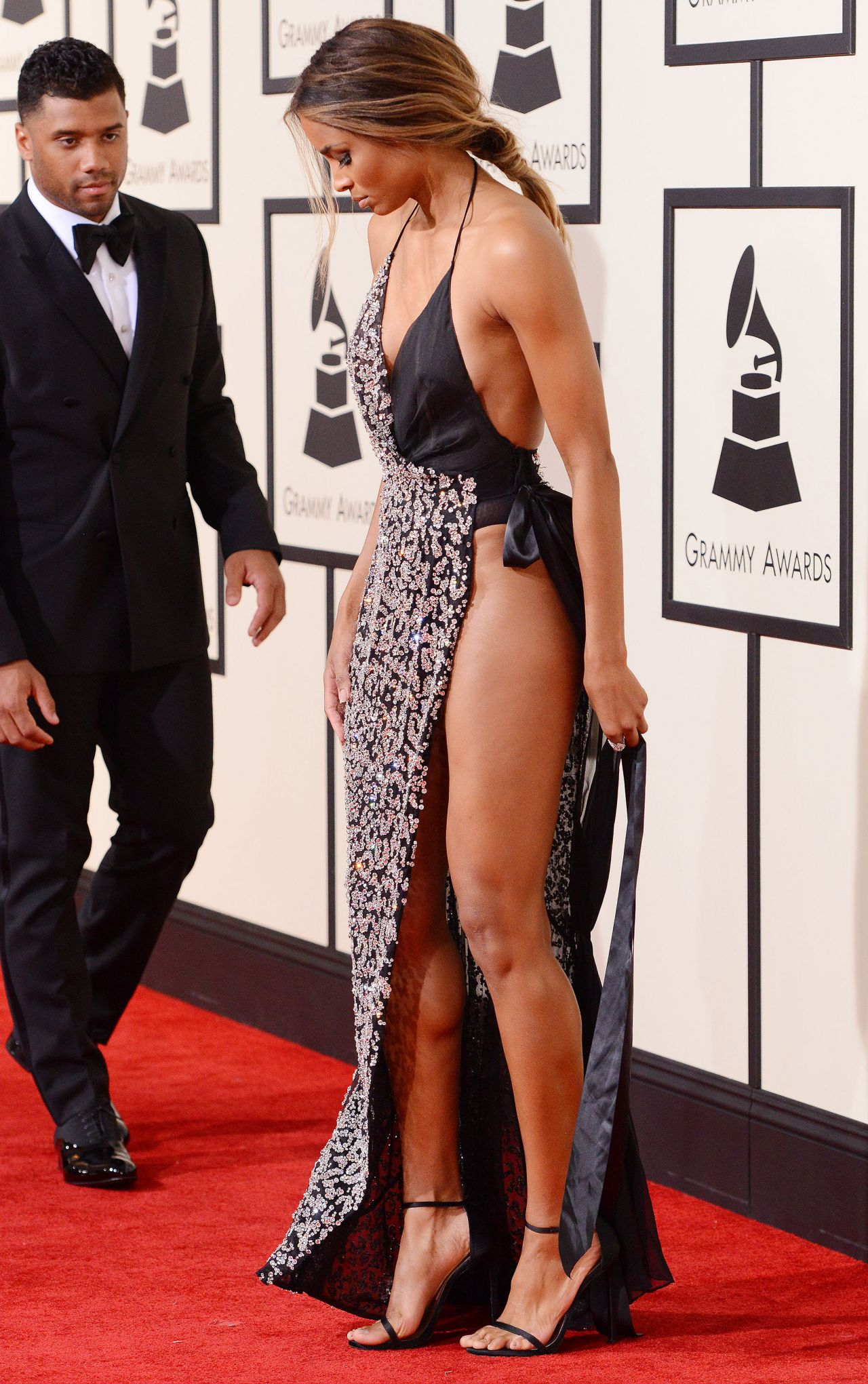 Ciara at 2016 Grammy Awards in Los Angeles