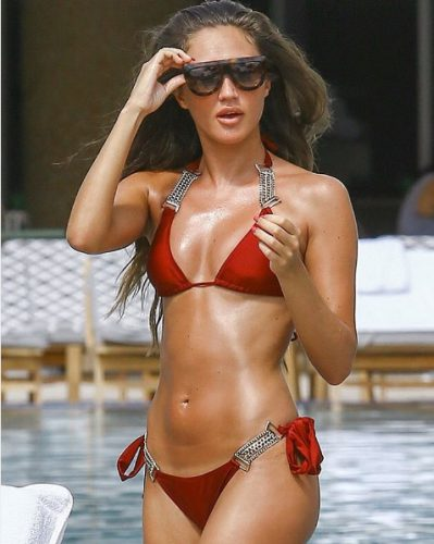Megan Mckenna in sexy swimsuit