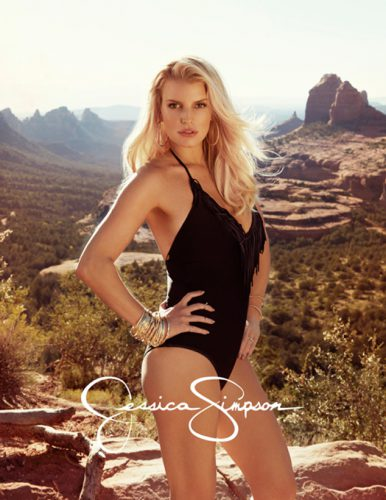 Jessica Simpson new fashion line