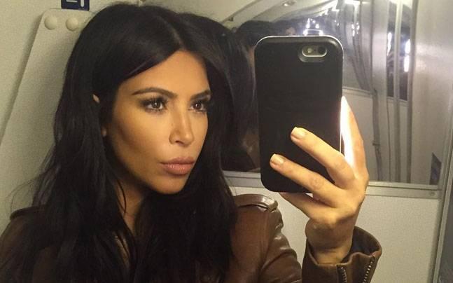 Kim Kardashian Selfie Pose