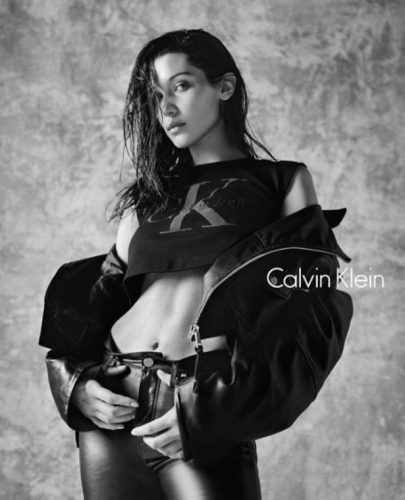 Bella Hadid Calvin Klein