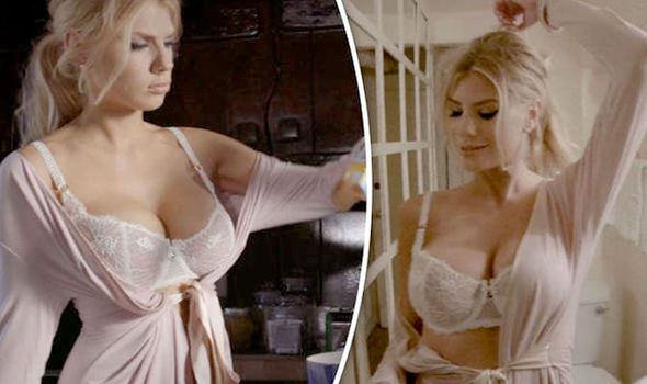 Charlotte Mckinney Strips Down To Show Her Assets In Hot -3242