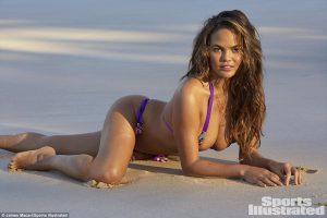Chrissy Teigen Re-Joins the SI Swimsuit Models