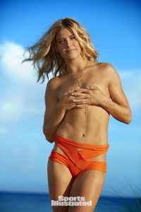 Genie Bouchard talks about being topless in the Sports Illustrated Swimsuit Issue