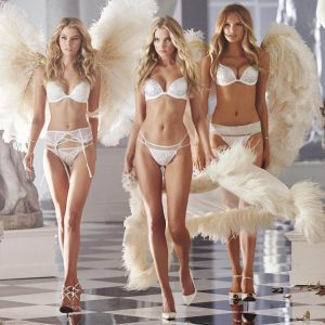 Elsa Hosk, Stella Maxwell, and Romee Strijd star in the new VS Lingerie Ad