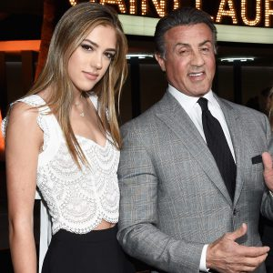 Sylvester Stallone's Daughter is Making a Name for Herself as a Model