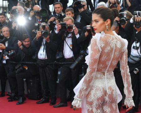 Sara Sampaio Bares Her Ass at the Cannes Film Festival