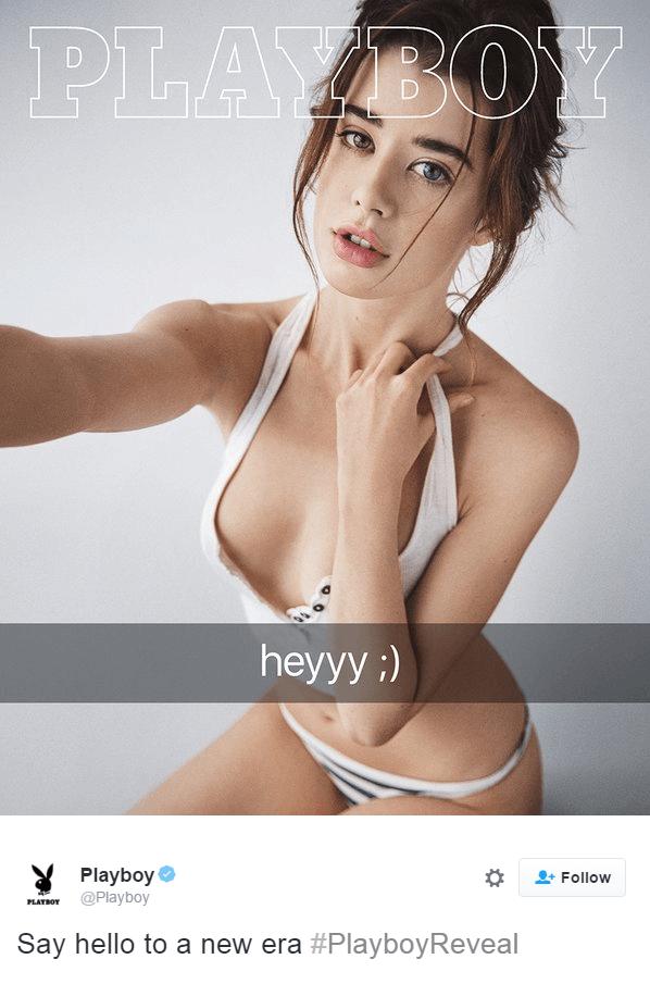 Sarah McDaniel playboy reveal