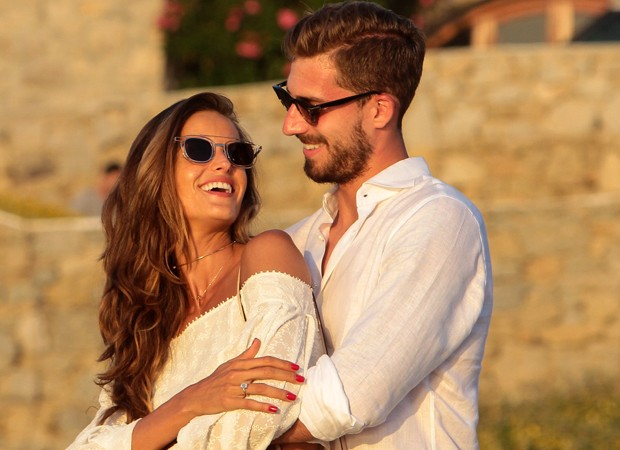 Izabel and Kevin Trapp