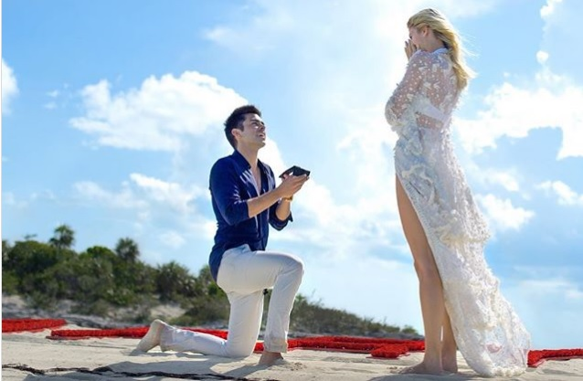 Devon Windsor engagement