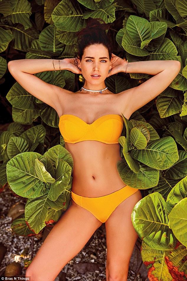 Tahnee in yellow bikini